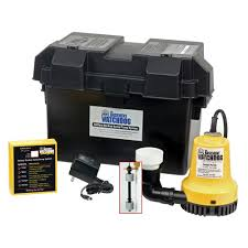 low water sump pump basement watchdog emergency battery backup sump pump system bwe