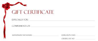 printable gift card free printable gift certificate templates christmas new free sle