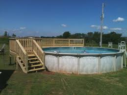 small above ground pools with decks more picture small above