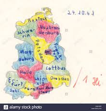 Map Of Germany With Cities by Homework For Historical Map Of East Germany With Main