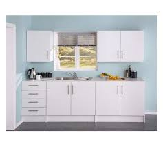 buy athina 5 fitted kitchen unit package white at argos co