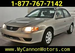 2001 toyota corolla le review used 2001 toyota corolla for sale carsforsale com