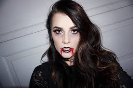 Vampire Look Halloween by Glam Grunge Vampire Halloween Makeup
