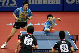 table tennis doubles rules rules of playing double in ping pong game