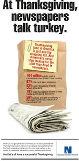 When Is Thanksgiving Day In Usa Thanksgiving Cook A Turkey Buy A Newspaper