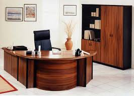 Modern Wood Office Desk Set Up Modern Executive Office Furniture Modern Furniture