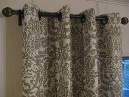 Hanging Up Curtains Without Nails by Curtains Ideas For French Doors Treatments Drapery French Door