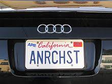 Ak Dmv Vanity Plates Vehicle Registration Plates Of California Wikipedia