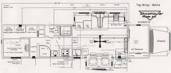 Motorhome Floor Plans Motorhome Floor Plans Showhauler Motorhome Conversions