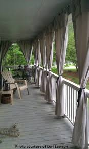 How To Make Curtains Out Of Drop Cloths Best 25 Patio Curtains Ideas On Pinterest Outdoor Curtains