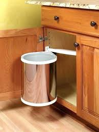 garbage can under the sink under sink trash can pull out trash bin within under sink can