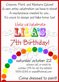 free rainbow birthday invitations art birthday party invitations u2013 gangcraft net