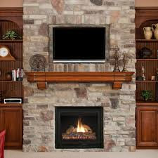 interior wood mantels with cherry wood mantel and reclaimed wood
