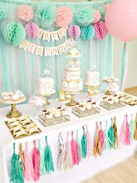 How To Decorate A Birthday Cake Best 25 Birthday Table Decorations Ideas On Pinterest Desert
