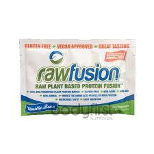 san rawfusion san rawfusion plant based protein vanilla bean sachet 31g