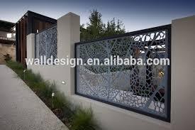 Decorative Metal Fence Panels Modern Steel Fence Panels Thesouvlakihouse Com