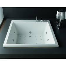 vasca da bagno salvaspazio vasca da bagno quadrata 165x165 offerta outlet kamalu bagno