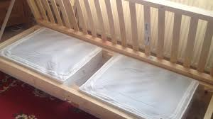 van dwelling building a camper van bed frame youtube