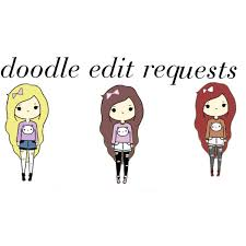 doodle edit doodle edit requests polyvore