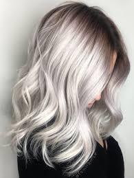 how to blend in grey hair pinterest deborahpraha silver grey hair color haircolor