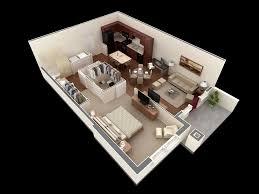 One Bedroom House Plan Wonderful  House Plans CapitanGeneral - One bedroom house design