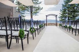 lake tahoe wedding venues lake tahoe wedding venues the landing resort and spa south