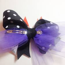 halloween bow ties the ribbon retreat stacked halloween bow tutorial mommy makes things