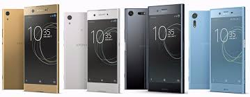 four sony u0027s xperia smartphones for 2017 appear in leaked image
