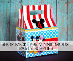 mickey mouse minnie mouse parties
