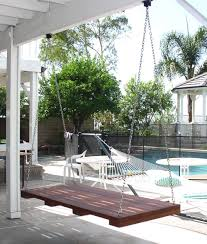 outdoor floating bed hanging patio bed hanging outdoor bed outdoor