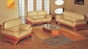Orange Living Room Set Orange And Beige Leather Living Room Set