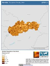 Slovakia Map Map Gallery Sedac