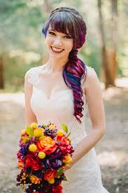 tie dye wedding dress this airbrushed wedding dress is going to take your