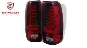 2006 gmc sierra tail lights spyder chevy silverado 1500 2500 03 06 gmc sierra 04 06 led tail