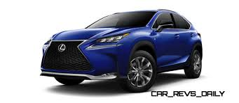 sporty lexus blue 2015 lexus nx colors