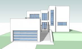 modern house blueprints contemporary house blueprints brucall