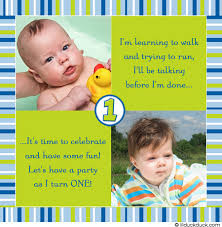 baby boy party invitation green blue stripes cupcakes
