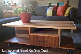 How To Make Reclaimed Wood Coffee Table Reclaimed Wood Coffee Table Jpg