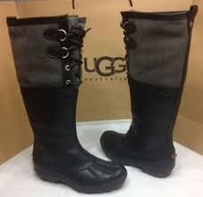uggs on sale size 5 ugg australia adirondack chestnut lace up winter boots size 5