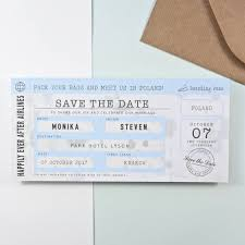 boarding pass save the date boarding pass save the date vintage style by paper and inc