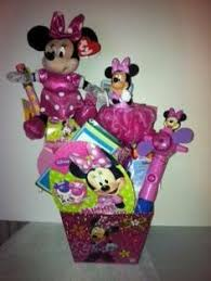 minnie mouse easter baskets minnie mouse easter basket by vyjcreations on etsy 25 00