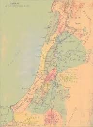 Map Of Canaan Nabataea Net Gibson Bible Atlas Canaan Before Abraham