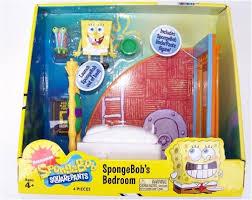 spongebob bedroom amazon com spongebob squarepants bedroom play set toys games