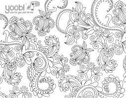 coloring sheets yoobi