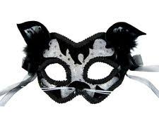 cat masquerade mask masquerade cat costume masks ebay