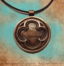 leather cord pendant necklace images Ldmrks kresge building copper pendant necklace kbcn i jpg