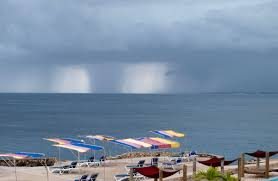 storm over the ocean in july jpg