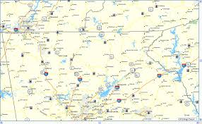 Georgia State Map With Cities by North Georgia Dual Sport Garmin Map Adventure Rider