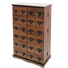 Apothecary Media Cabinet Cd U0026 Dvd Media Storage On Sale Bellacor