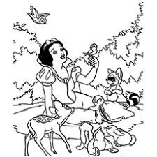 top 20 free printable snow white coloring pages online